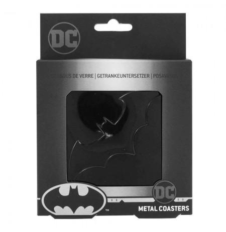 Batman Black Matte metaliniai padėkliukai