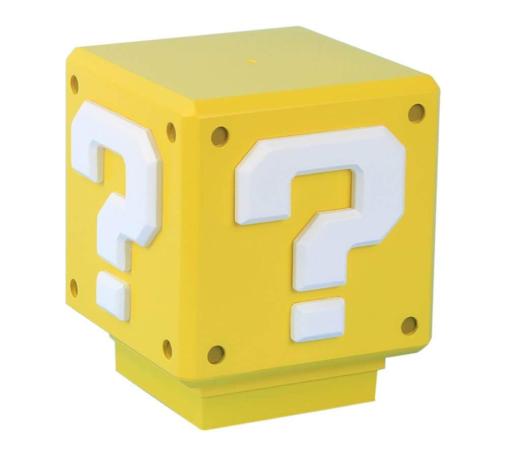 NINTENDO - SUPER MARIO MINI QUESTION lempa 8cm