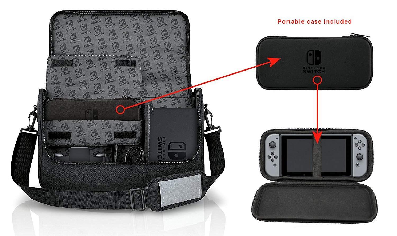 Nintendo Switch Everywhere Messenger kompiuterio kuprinė
