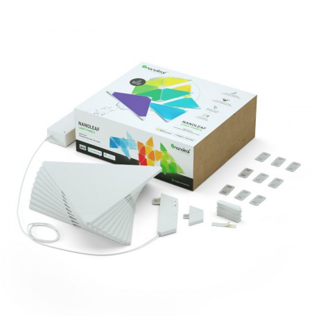 Nanoleaf Light Panels Rhythm Smarter Kit