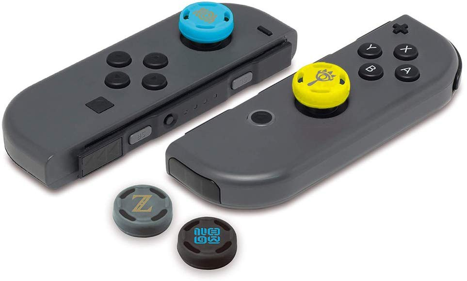 HORI Analogue Caps Zelda Breath of the Wild Edition