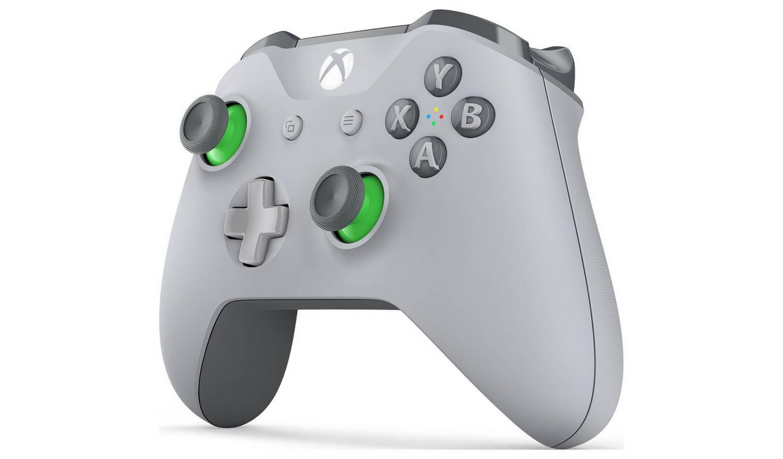 Xbox One belaidis valdiklis (Grey and Green)