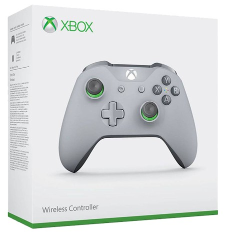 Xbox One Wireless Controller - Grey and Green Edition