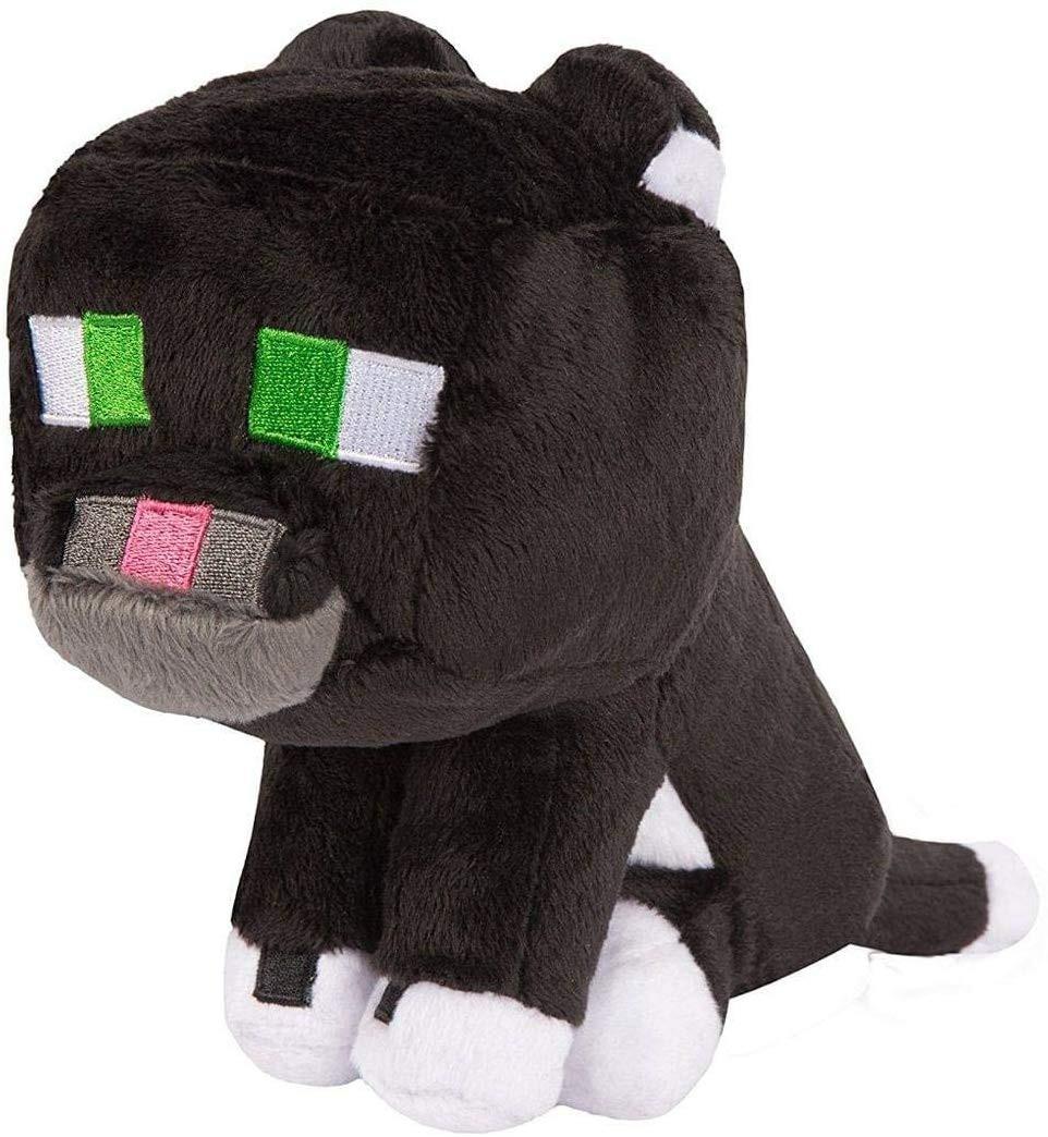 Pliušinis žaislas Minecraft Tuxedo Cat   12-17cm