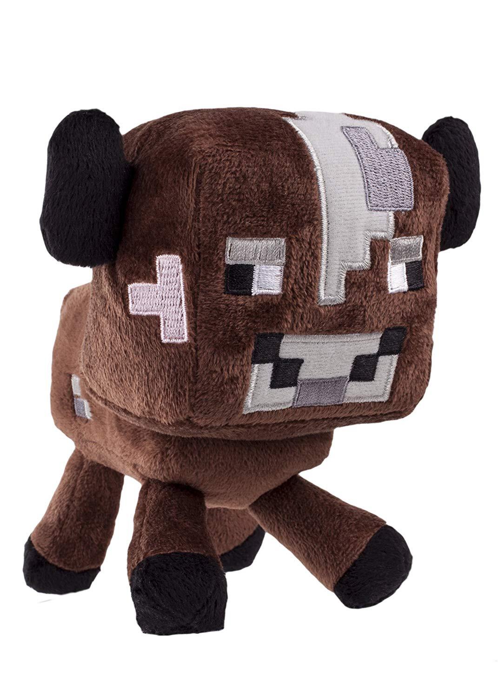 Plush toy Minecraft Baby Cow| 12-17cm