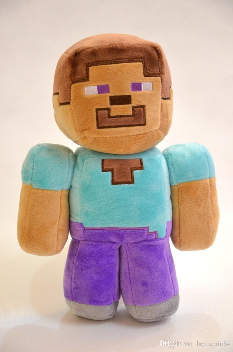 Plush toy Minecraft Steve| 12-17cm