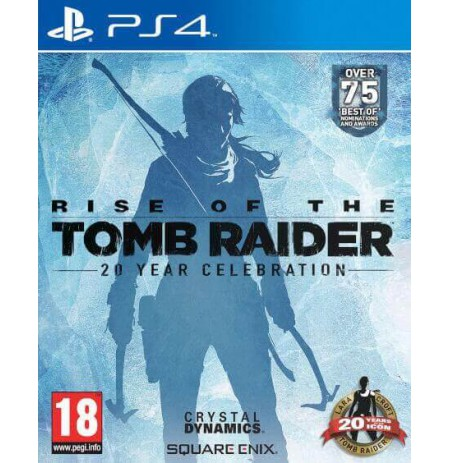 Rise of the Tomb Raider: 20 Year Celebration Edition PS4