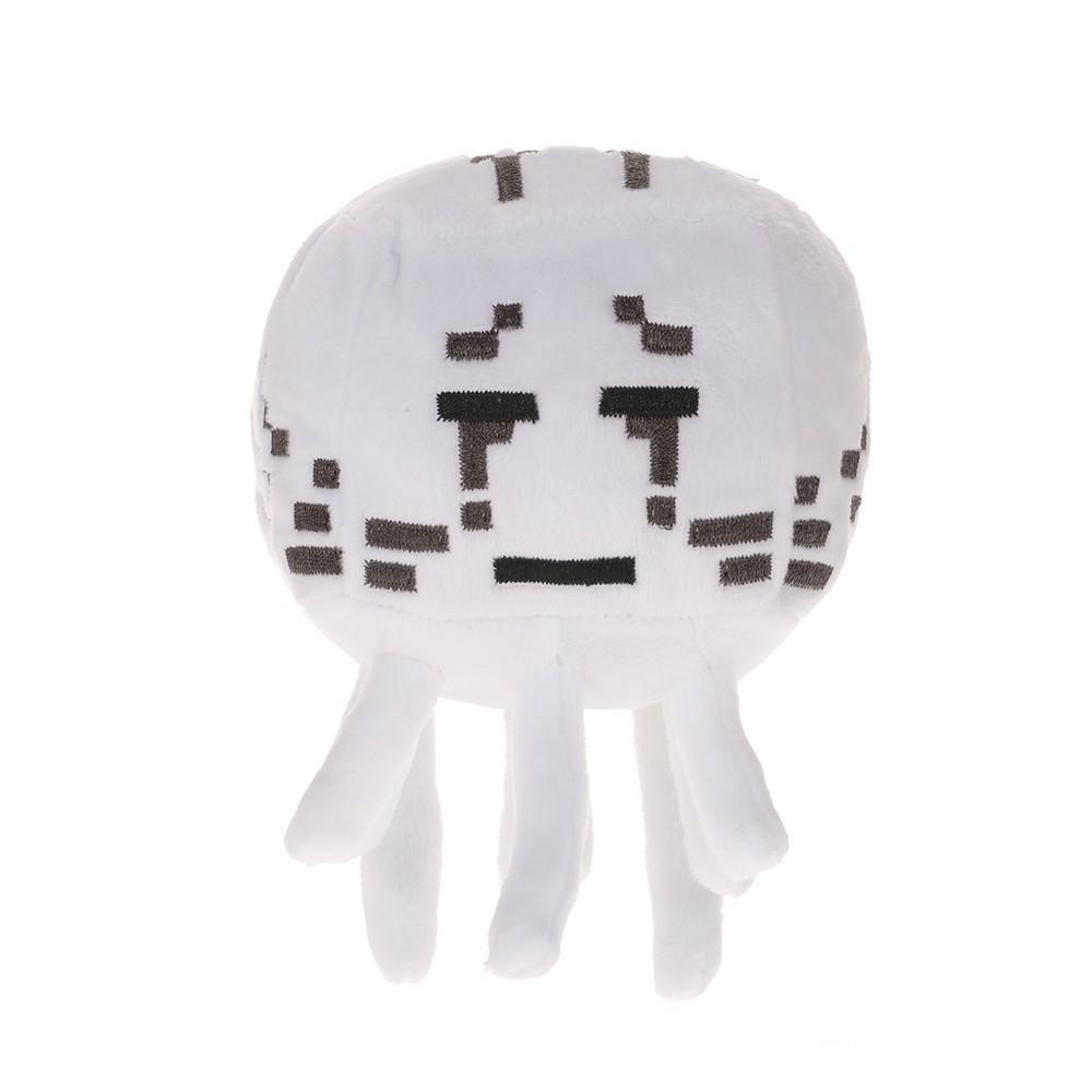 Plush toy Minecraft Ghast   12-17cm