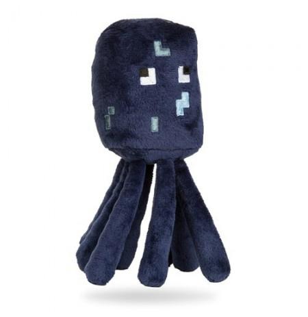 Pliušinis žaislas Minecraft Squid | 12-17cm