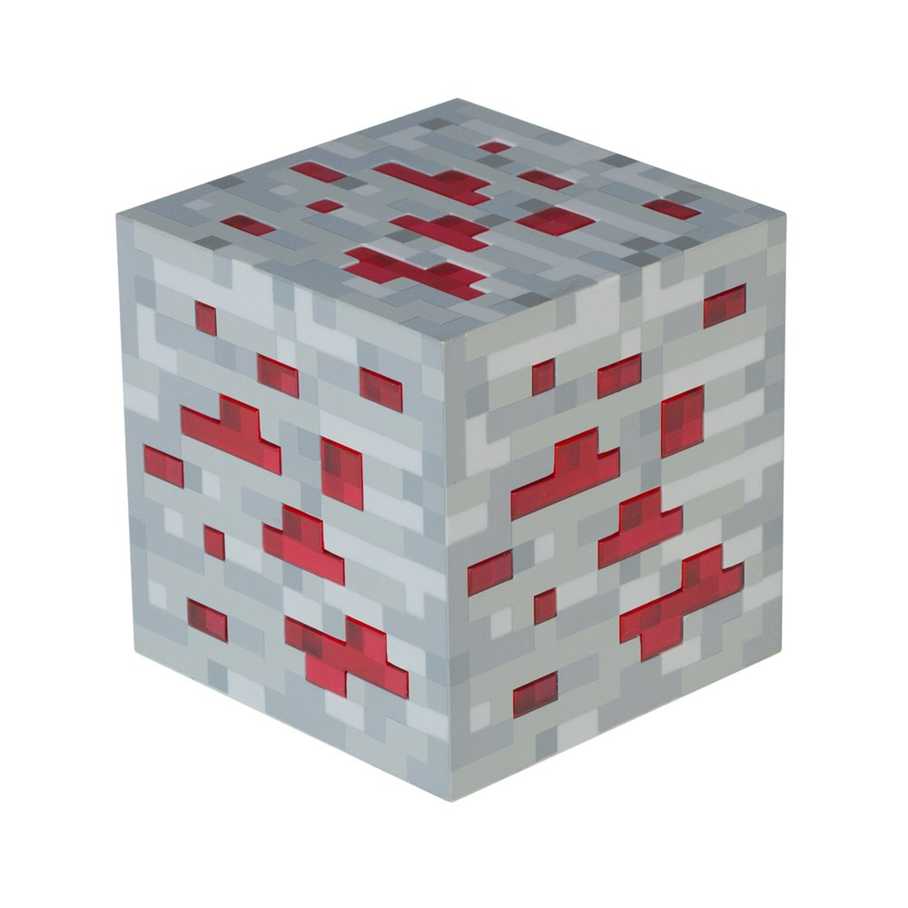Minecraft Redstone lempa 8cm