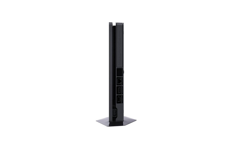Žaidimų konsolė SONY PlayStation 4 (PS4) Slim 1TB - Juoda + 3 PlayStation Hits (Uncharted 4, The Last of Us, Horizon Zero Dawn)
