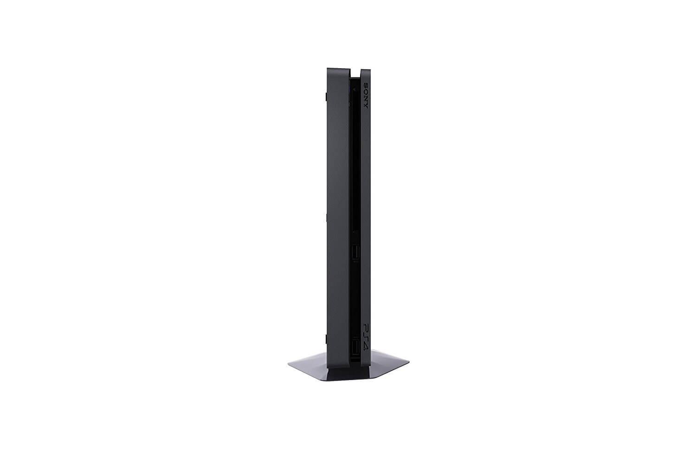 Sony PlayStation 4 Slim 1TB (Black) + 3 PlayStation Hits (Uncharted 4, The Last of Us, Horizon zero dawn)