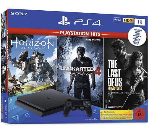 Sony PlayStation 4 Slim 500GB - Black