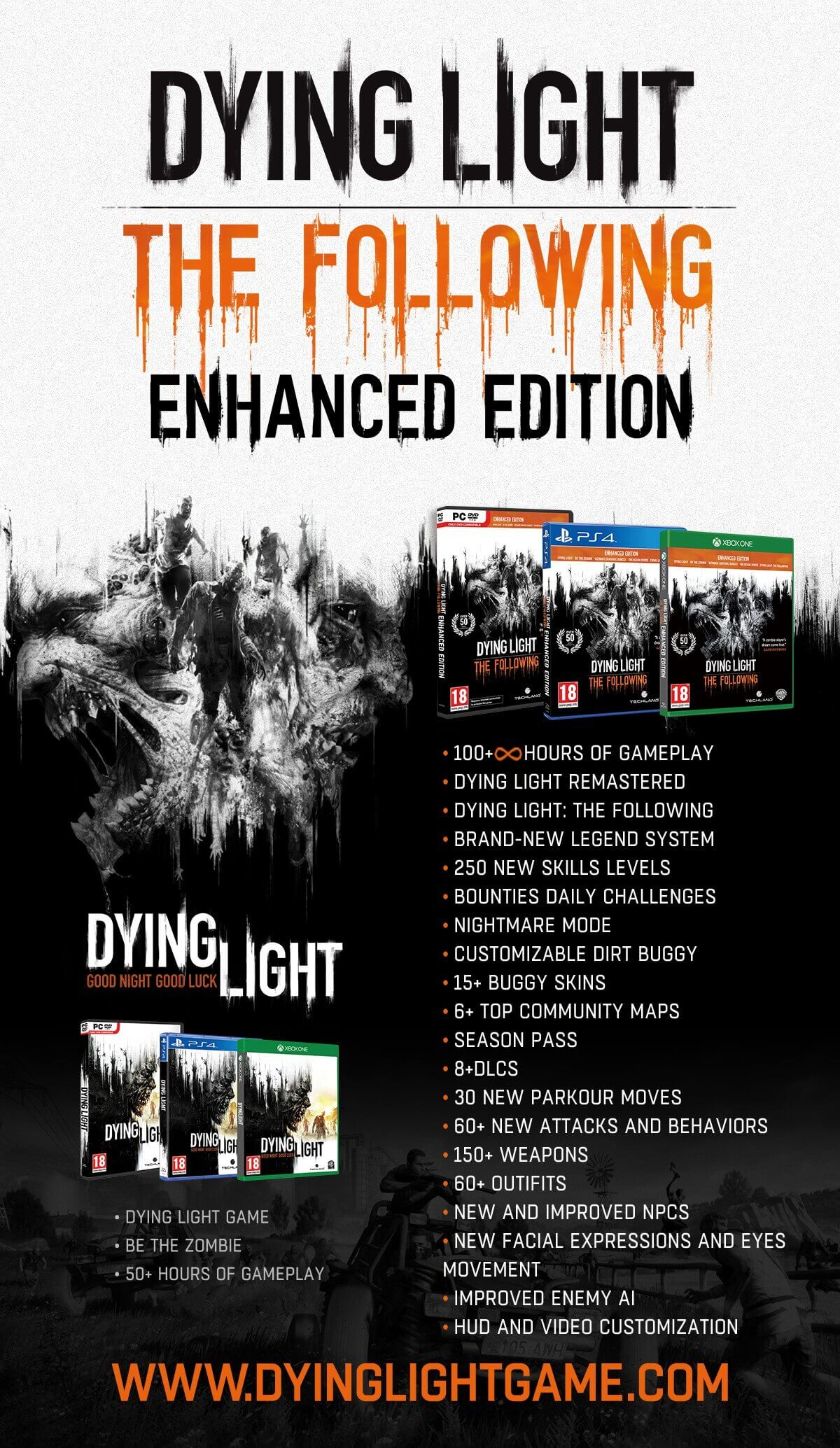 Buy Dying Light: The Following Enhanced Edition,