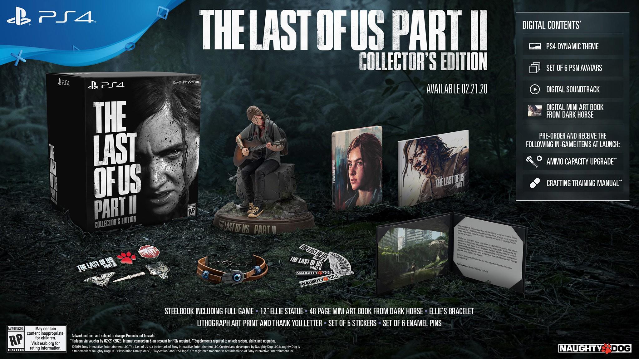 The Last of Us Part II Collectors Edition + preorder bonus