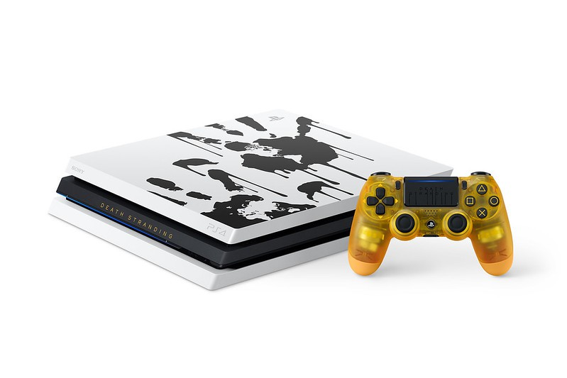 Žaidimų konsolė SONY PlayStation 4 (PS4) PRO 1TB (juoda) + Death Stranding Limited edition