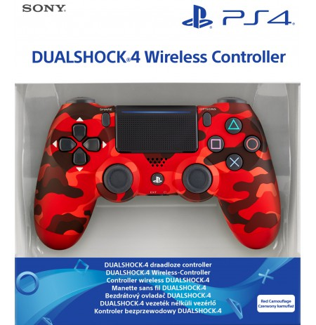 Sony PlayStation DualShock 4 V2 valdiklis - Red Camo