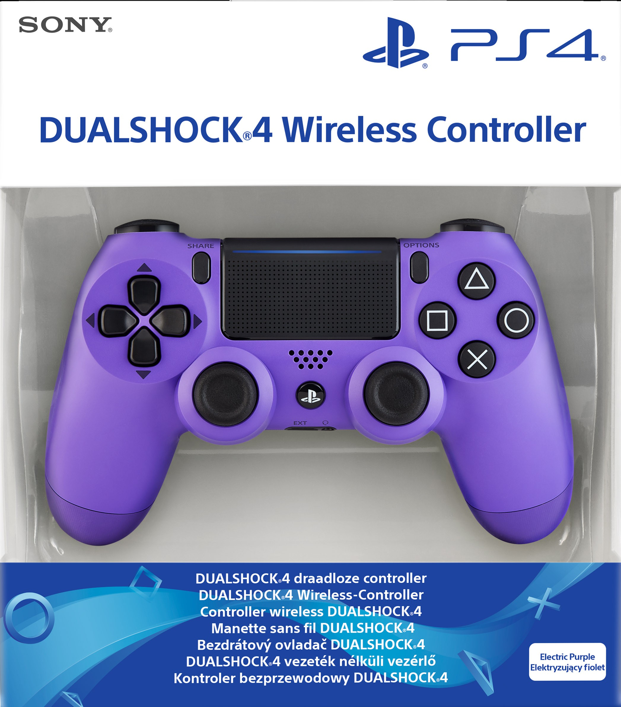 Sony PlayStation DualShock 4 V2 Controller - Electric Purple