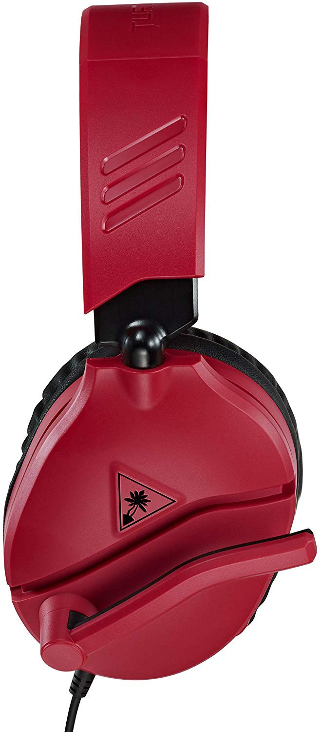 Turtle Beach Recon 70N midnight red wired headphones | 3.5mm
