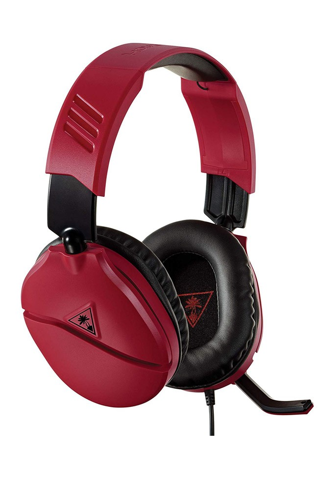 Turtle Beach Recon 70N midnight red wired headphones   3.5mm