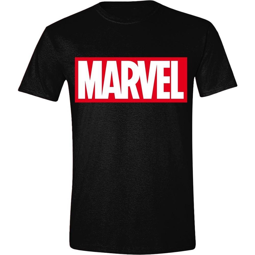 Marvel - Logo Men T-Shirt - Black Medium