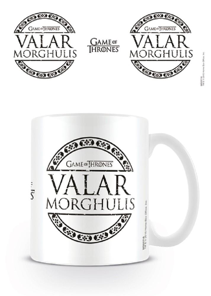 Game of Thrones - Valar Morghulis mug