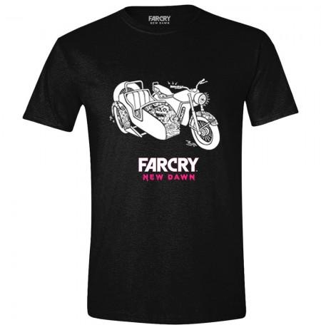 FAR CRY NEW DAWN - SIDE CAR juodi marškinėliai - M dydis
