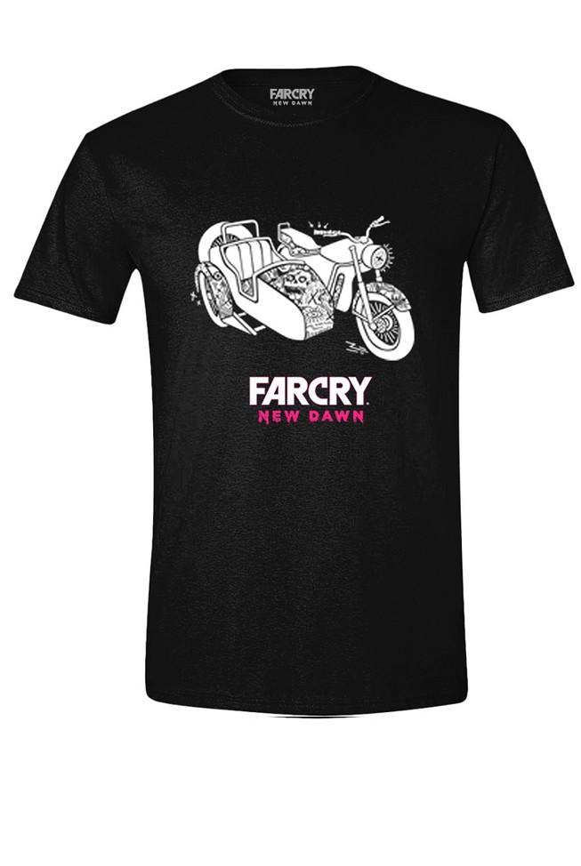 FAR CRY NEW DAWN - SIDE CAR juodi marškinėliai - XL dydis
