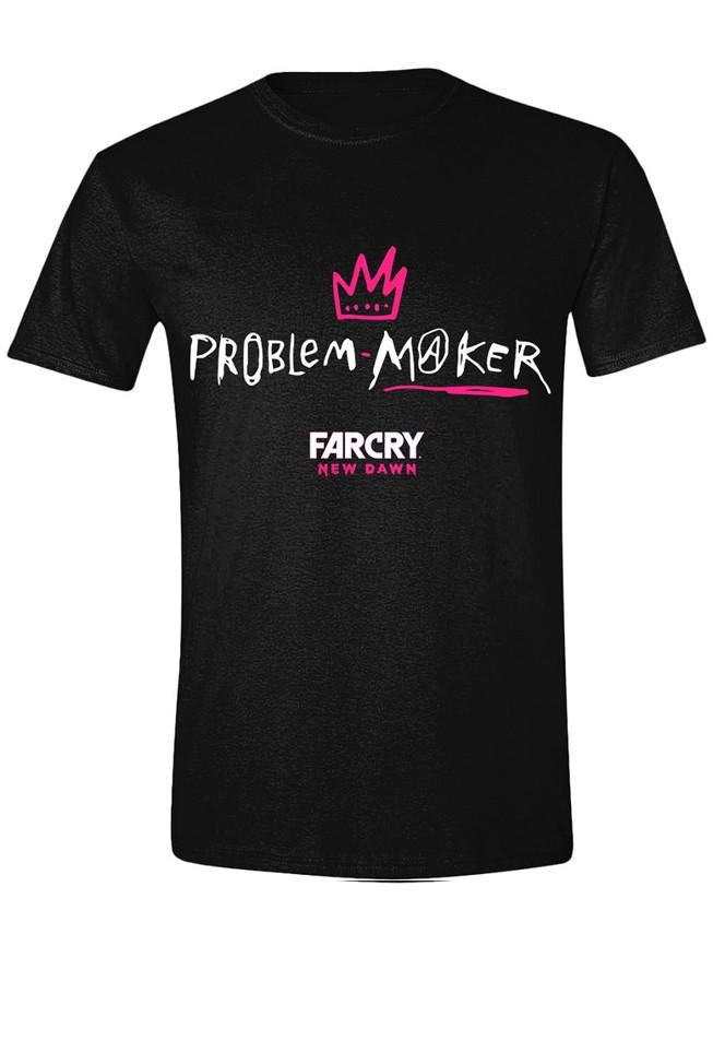 FAR CRY NEW DAWN - PROBLEM MAKER juodi marškinėliai - L dydis