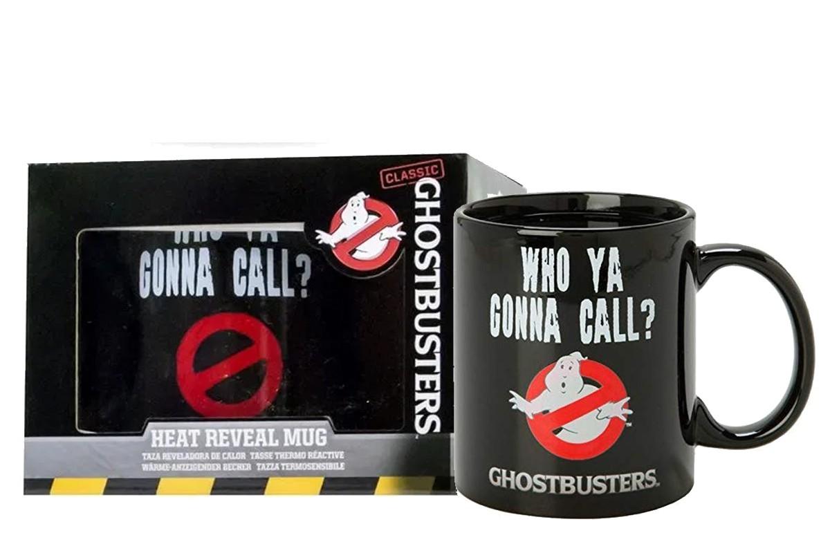Ghostbusters - Who You Gonna Call 300 ml spalvą keičiantis puodukas