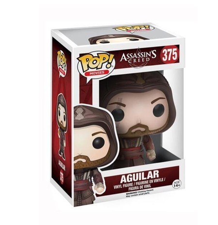 FUNKO POP! Movie: Assassin's Creed - Aguillar| 375 | 9cm