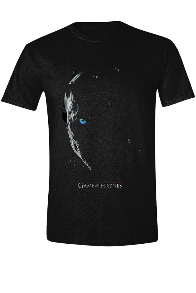 GAME OF THRONES - SEASON 7 POSTER juodi marškinėliai - L dydis