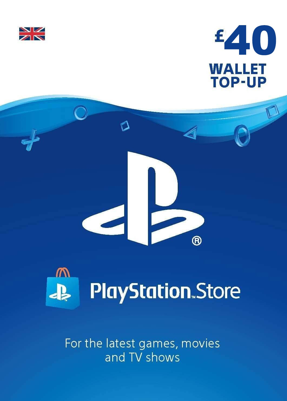 Playstation Network Card 40 GBP (United Kingdom)