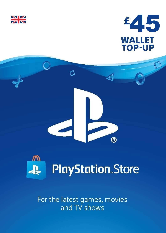 Playstation Network Card 45 GBP (United Kingdom)