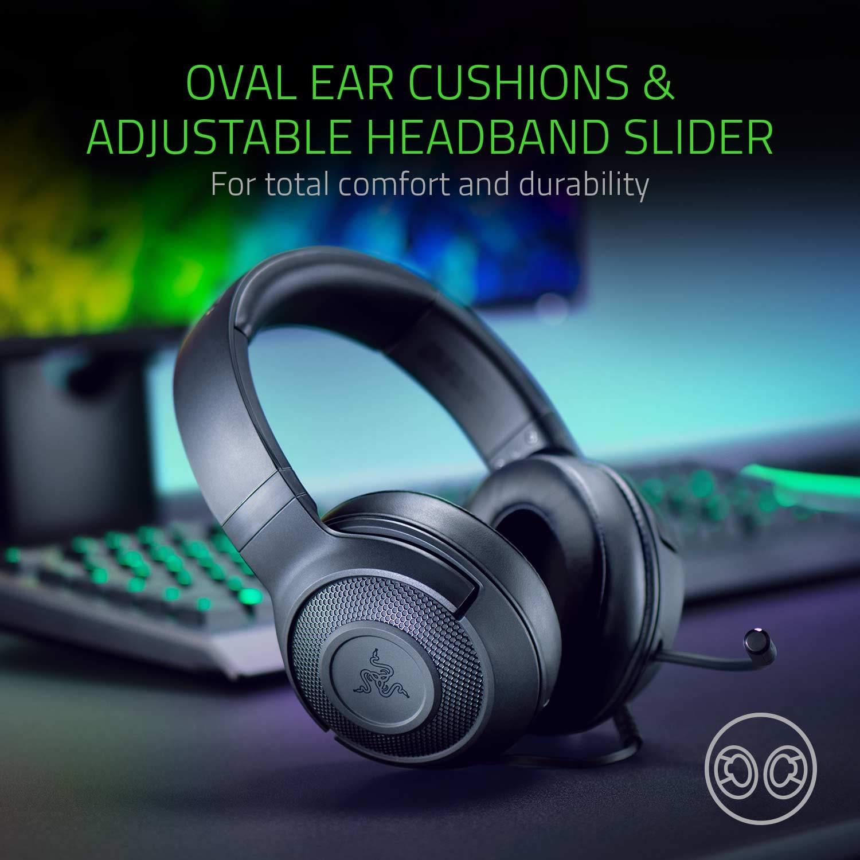 Razer Kraken X Lite Ultralight Gaming Headset: 7.1 | 3.5 mm