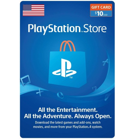 Playstation Network Card 10 USD (JAV)