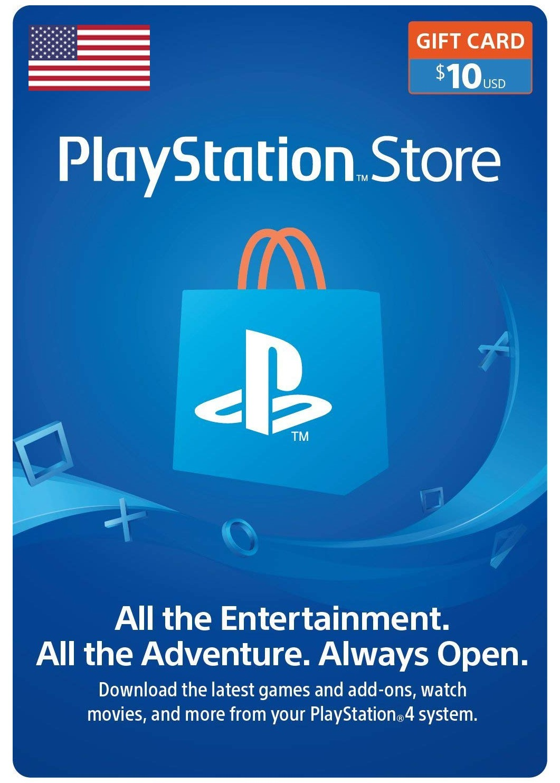 Playstation Network Card 10 USD (USA)