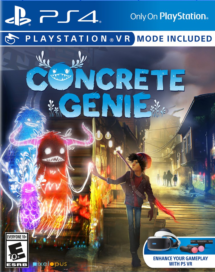 Concrete Genie VR