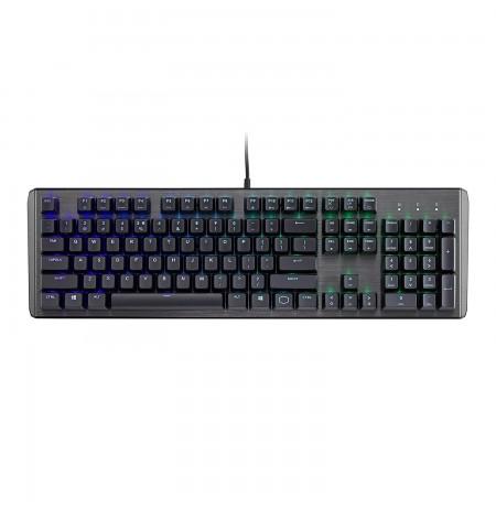 COOLER MASTER MASTERKEYS CK550 mechaninė laidinė RGB klaviatūra | US BROWN