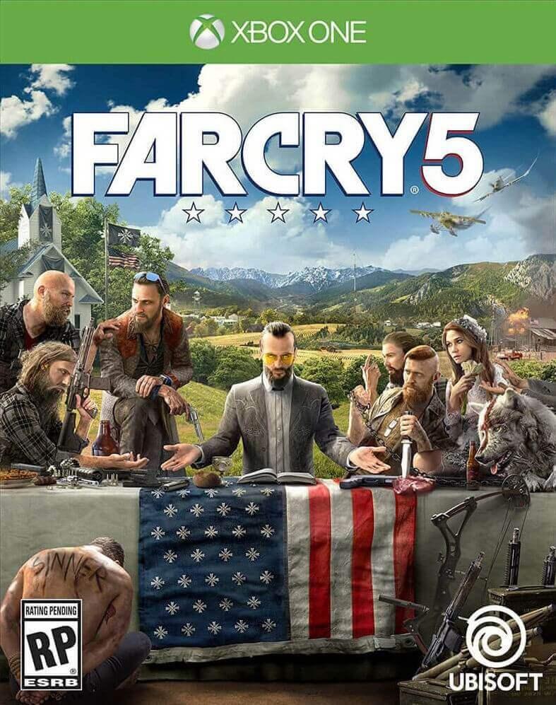 Far Cry 5 Standard Edition XBOX