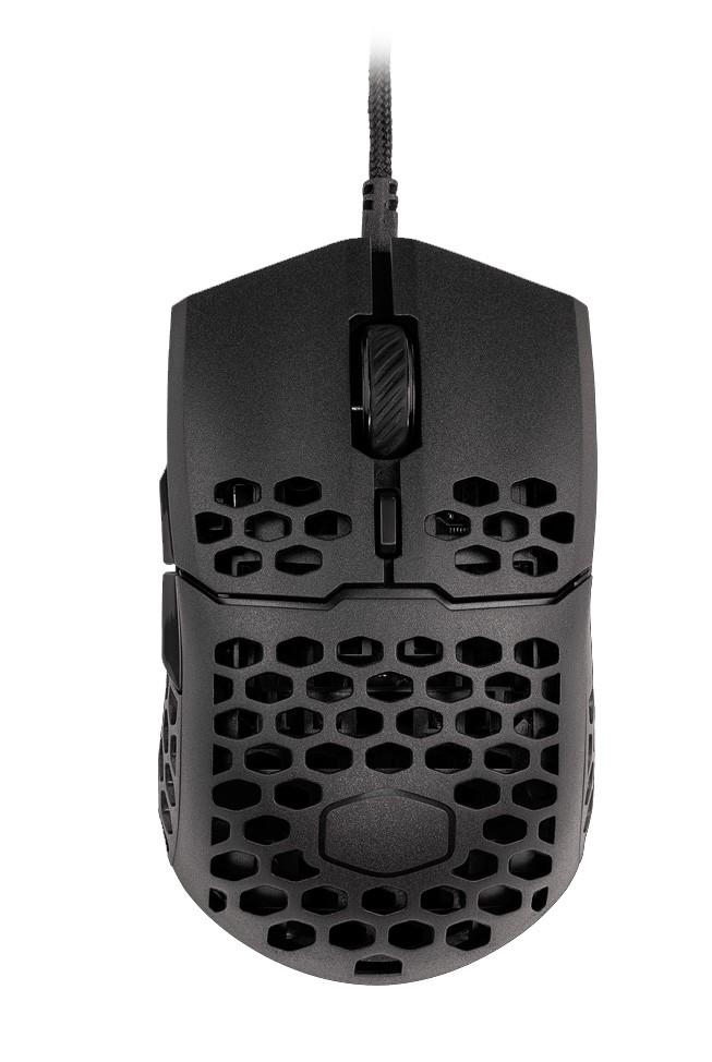 COOLER MASTER MM710 matinė juoda laidinė pelė   16000 DPI