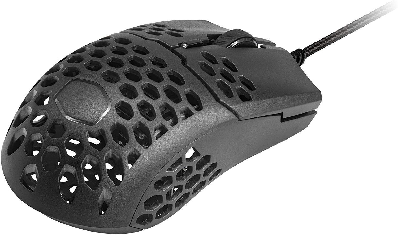 COOLER MASTER MM710 matinė juoda laidinė pelė | 16000 DPI