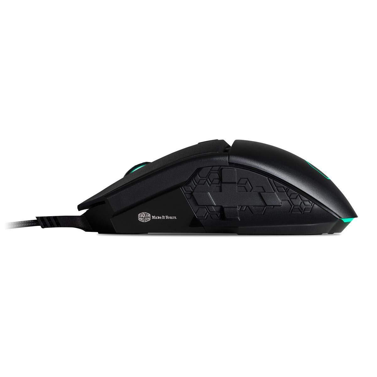 GAMING MOUSE COOLER MASTER MM830 24000DPI RGB ILLUMINATED BLACK
