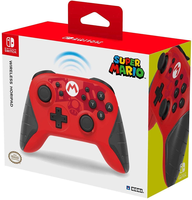 HORI Wireless MARIO Horipad for Nintendo Switch