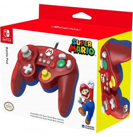 HORI Nintendo Switch Battle Pad (Mario) GameCube Style Controller