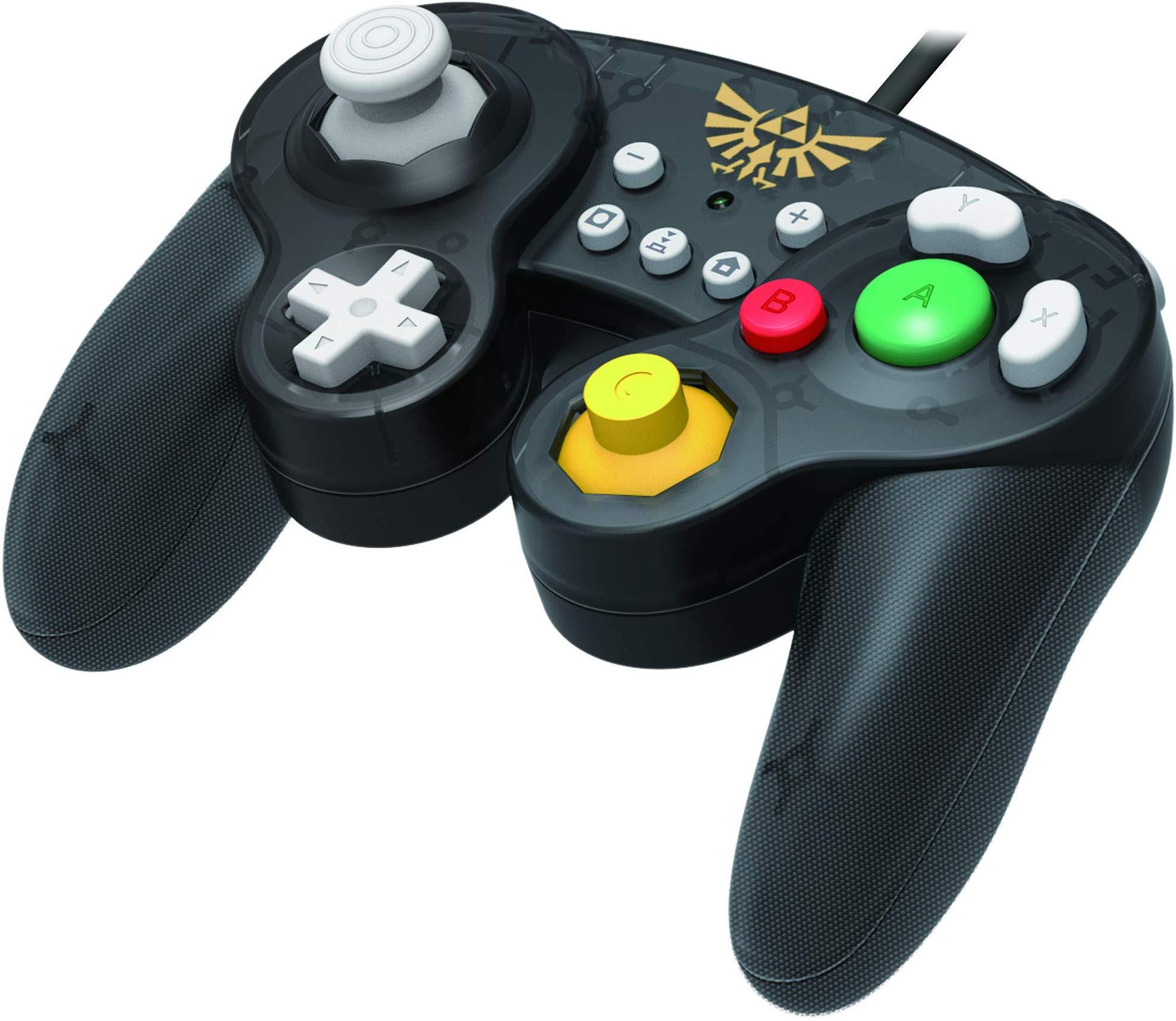 HORI Nintendo Switch Battle Pad (Zelda) GameCube Style Controller