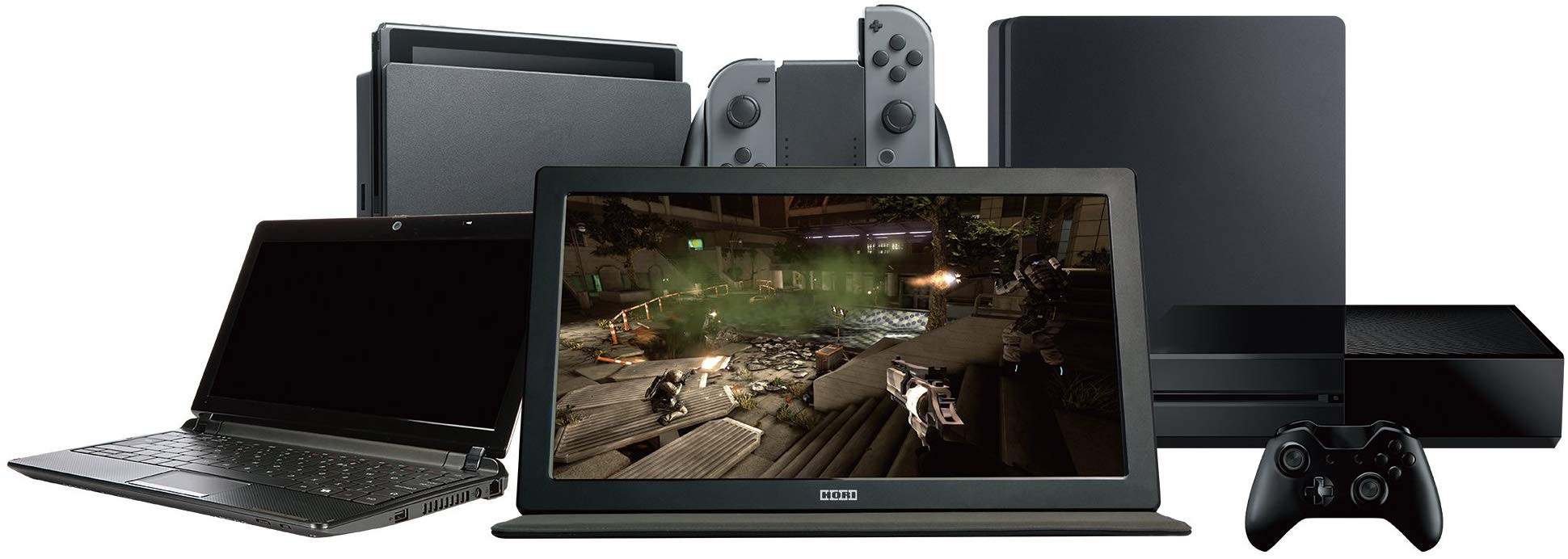 HORI mobile HD gaming screen | 15.6 inches