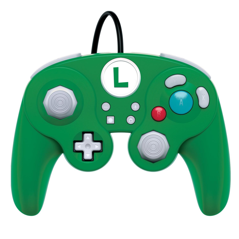 PDP Fight Pad Pro - Luigi laidinis valdiklis skirtas Nintendo Switch