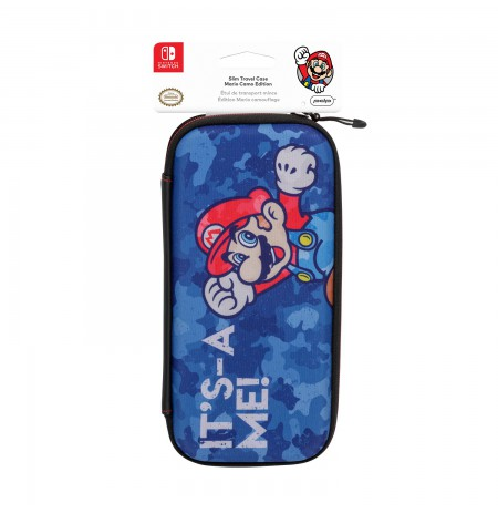 PDP Slim Travel Case - Mario Camo Edition For Nintendo Switch
