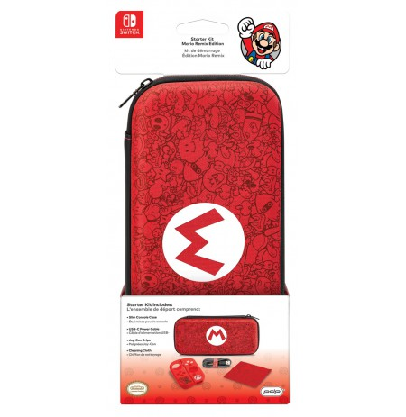 PDP Deluxe Travel Case - Mario Remix Edition For Nintendo Switch